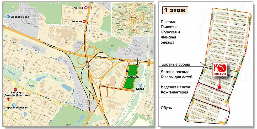 из Турции - Схема проезда