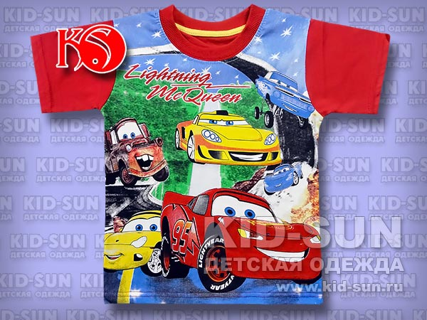 "Футболка ""Lighting McQueen"""