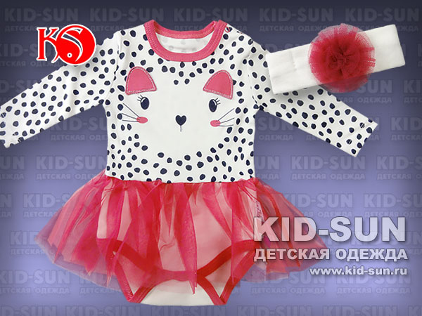 Боди-платье Kitty