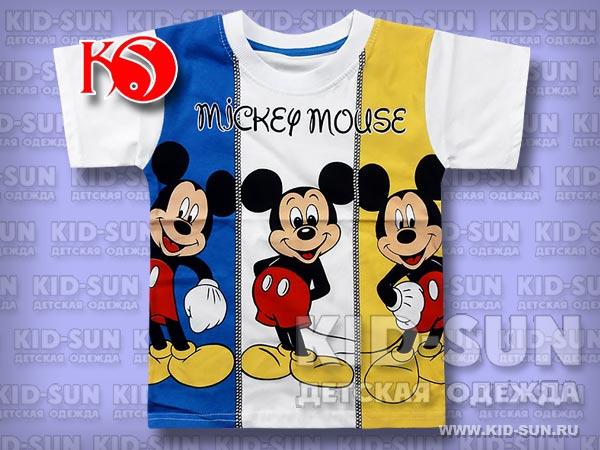 "Футболка для мальчика ""Trio Mickey"""