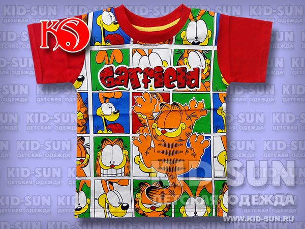"Футболка для мальчика ""Garfield"""