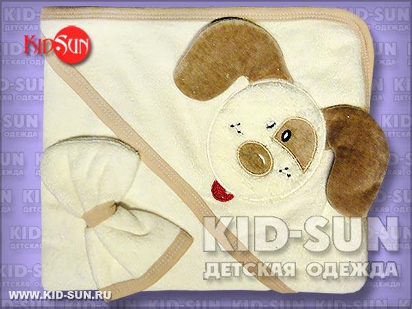 """Полотенце  для малыша """"Puppy"""""""