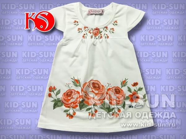 "Платье-туника ""Roses"""