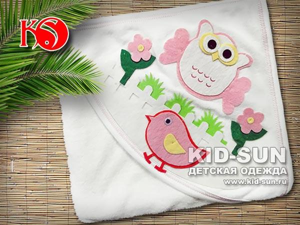 """Полотенце с капюшоном """"OWL"""""""