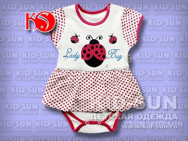 """Боди-платье """"Ladybug"""""""