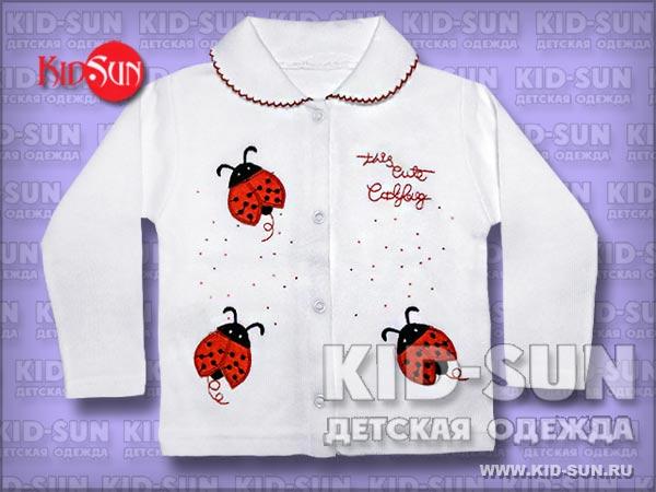 """Кофта на кнопках """"Cute Ladybug"""""""