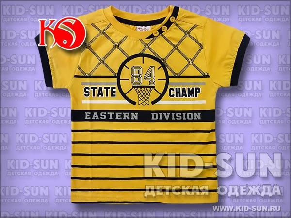 "Футболка для мальчика ""State Champ"""