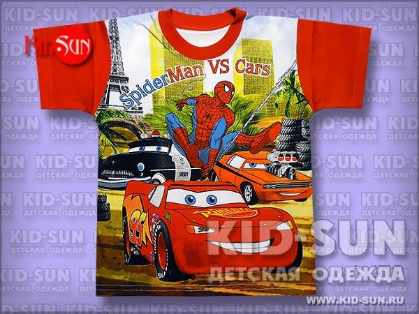 "Футболка для мальчика ""SM & Cars"""