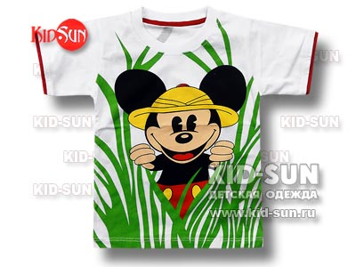 "Футболка для мальчика ""Safari Mickey"""